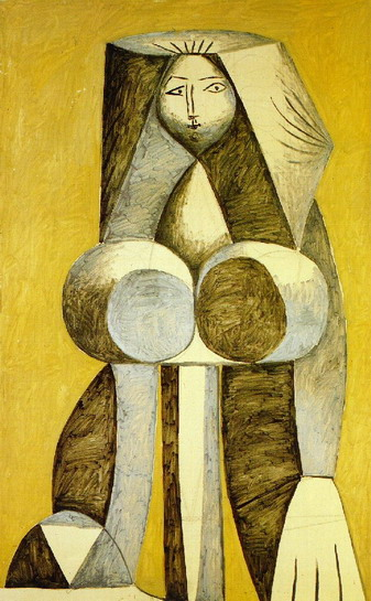 Pablo Picasso. Standing Woman, 1946