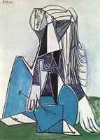 Pablo Picasso. Portrait of Sylvette David 05, 1954
