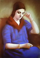 Portrait of Olga Picasso