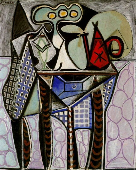 Pablo Picasso. Still life on a table, 1947