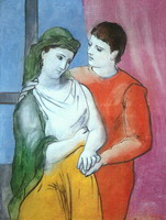 Pablo Picasso. The Lovers, 1923