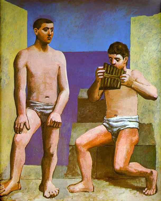Pablo Picasso. The Pan Flute, 1923