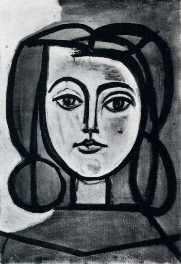 Pablo Picasso. Head of a Woman, 1946