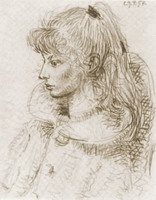 Portrait of Sylvette David 12