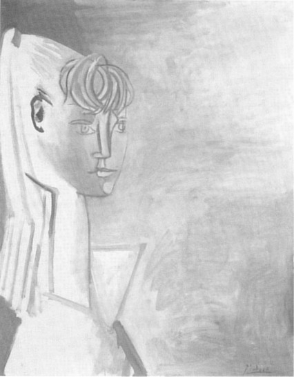 Pablo Picasso. Portrait of Sylvette David 14, 1954