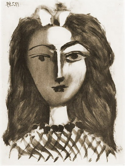 Pablo Picasso. Head girl, 1949