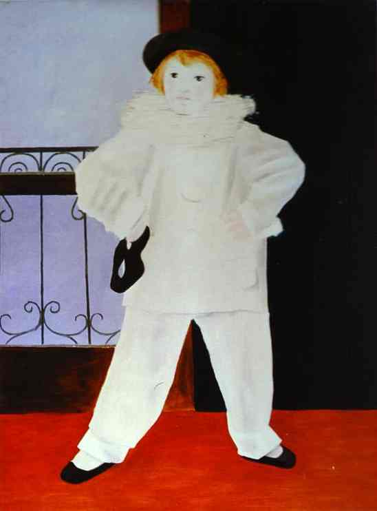 Pablo Picasso. Paul as a Pierrot, 1925