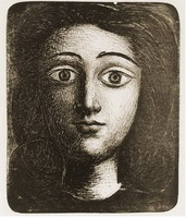 Pablo Picasso. Head girl VI
