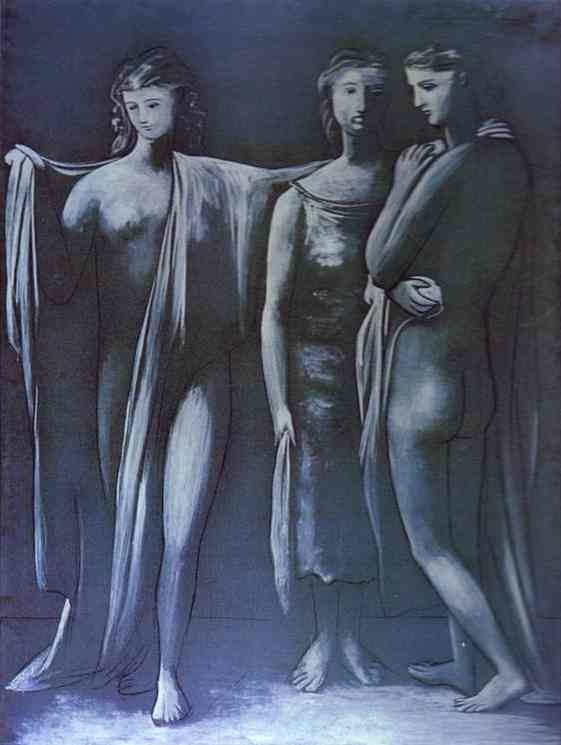 Pablo Picasso. The Three Graces, 1925