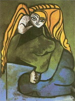 Pablo Picasso. Portrait of Madame Helene Parmelin