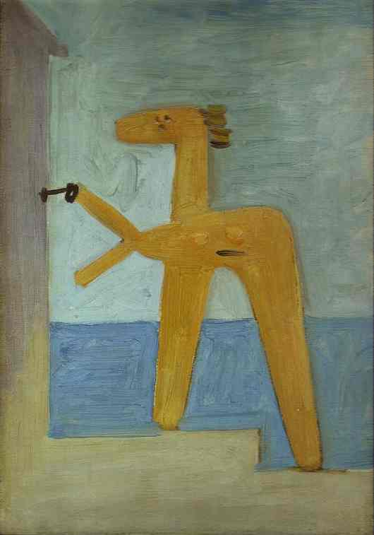 Pablo Picasso. Bather Opening a Cabin, 1928
