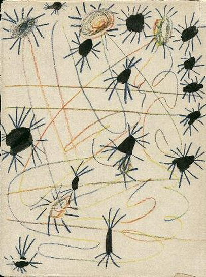 Pablo Picasso. Cosmic spiders, 1951