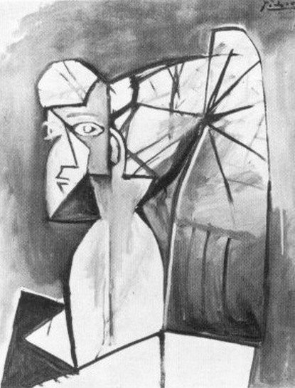 Pablo Picasso. Portrait of Sylvette David 29, 1954