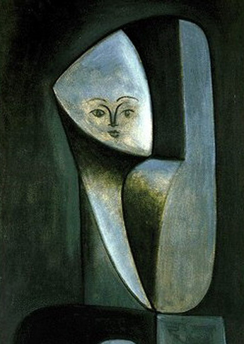 Pablo Picasso. Head of a Woman (Françoise Gilot), 1946