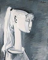 Pablo Picasso. Portrait of Sylvette David 13, 1954