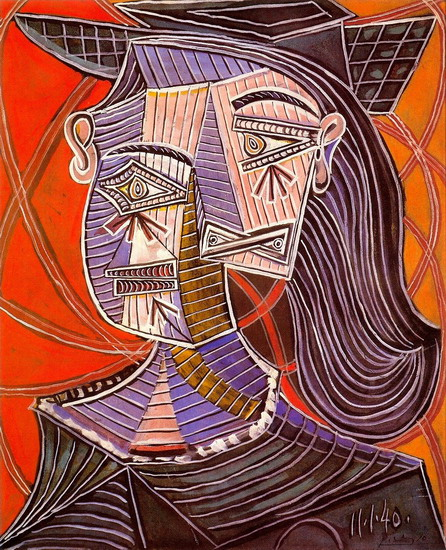 Pablo Picasso. Female bust, 1939