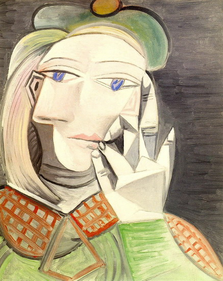 Pablo Picasso. Bust of a Woman (Marie-Therese Walter), 1938
