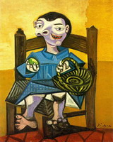 Pablo Picasso. Garcon to cart