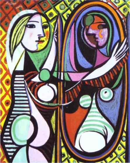 Pablo Picasso. Girl Before a Mirror, 1932