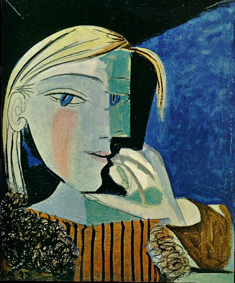 Pablo Picasso. Portrait of Marie-Therese, 1937