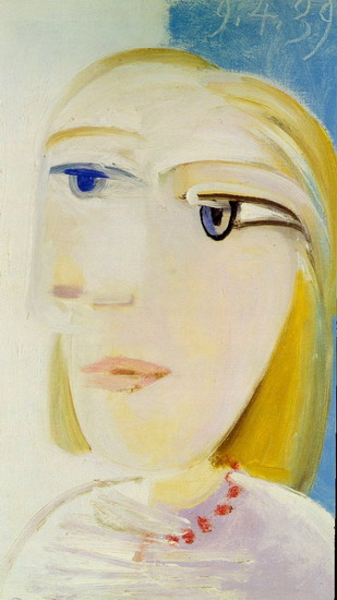 Pablo Picasso. Head of a Woman (Marie-Therese Walter), 1939