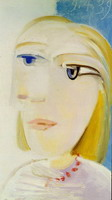 Pablo Picasso. Head of a Woman (Marie-Therese Walter)