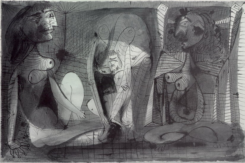 Pablo Picasso. three women, 1938