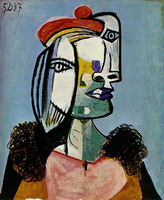 Pablo Picasso. Portrait of woman