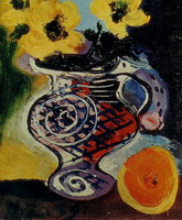 Pablo Picasso. Pitcher flower, 1939