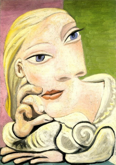 Pablo Picasso. Portrait of Marie-Therese Walter, 1932