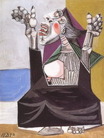 Pablo Picasso. The suppliant