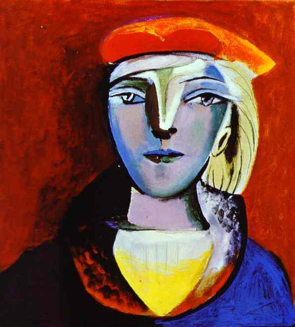 Pablo Picasso. Marie-Therese Walter, 1937