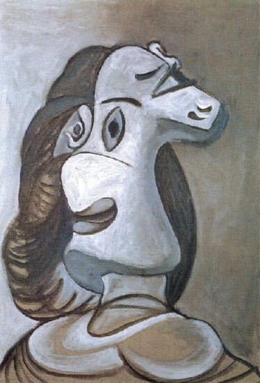 Pablo Picasso. Head of a Woman, 1924