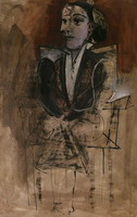 Portrait of Dora Maar sitting
