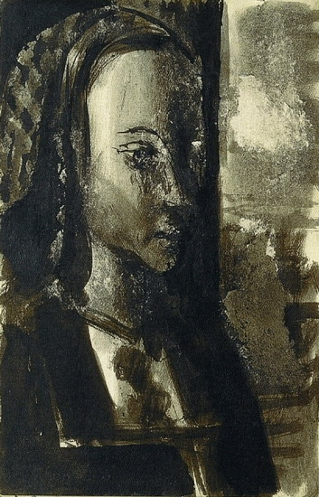 Pablo Picasso. Portrait `a young princess According to operative Mills of the MaМtre, 1939