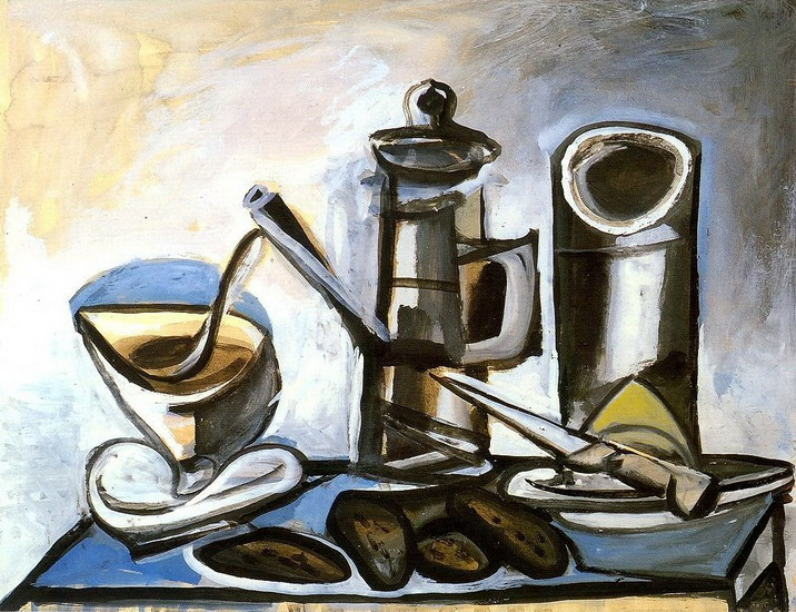 Pablo Picasso. Coffee maker, 1943