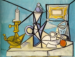 Still Life with Candlestick