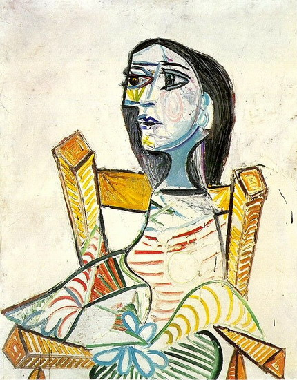 Pablo Picasso. Portrait of woman, 1938