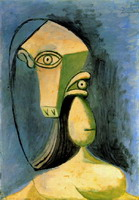 Pablo Picasso. Female figure Bust