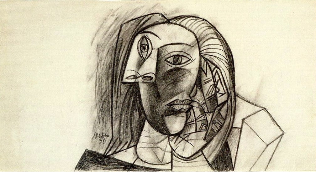 Pablo Picasso. Head of a Woman, 1938