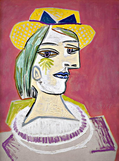 Pablo Picasso. Portrait of woman, 1937