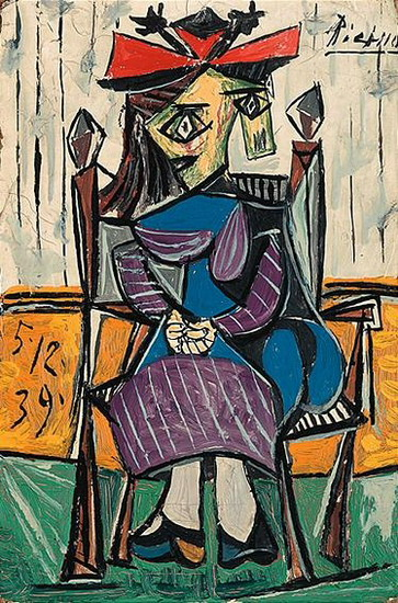Pablo Picasso. Seated Woman, 1962