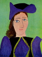 Pablo Picasso. Portrait of a woman (Olga)