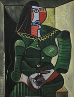 Pablo Picasso. Woman in Green