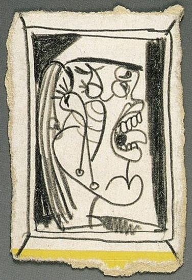 Pablo Picasso. Head of a Woman, 1927