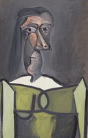 Pablo Picasso. Female bust
