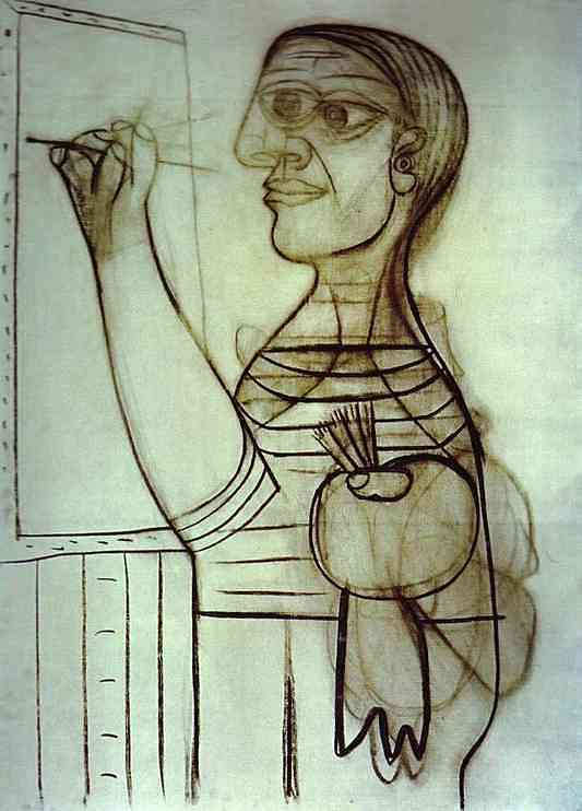 Pablo Picasso. Self-Portrait, 1938