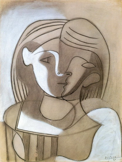 Pablo Picasso. Head of a Woman, 1928