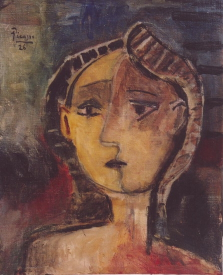 Pablo Picasso. Female bust, 1926