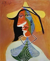 Pablo Picasso. Portrait of a Young Girl
